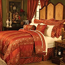 Room in a bag sets from target bedding pillows textiles - Red and gold bedroom designs ...