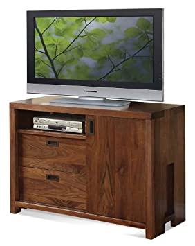 Riverside Furniture Terra Vista Entertainment Chest in Casual Walnut
