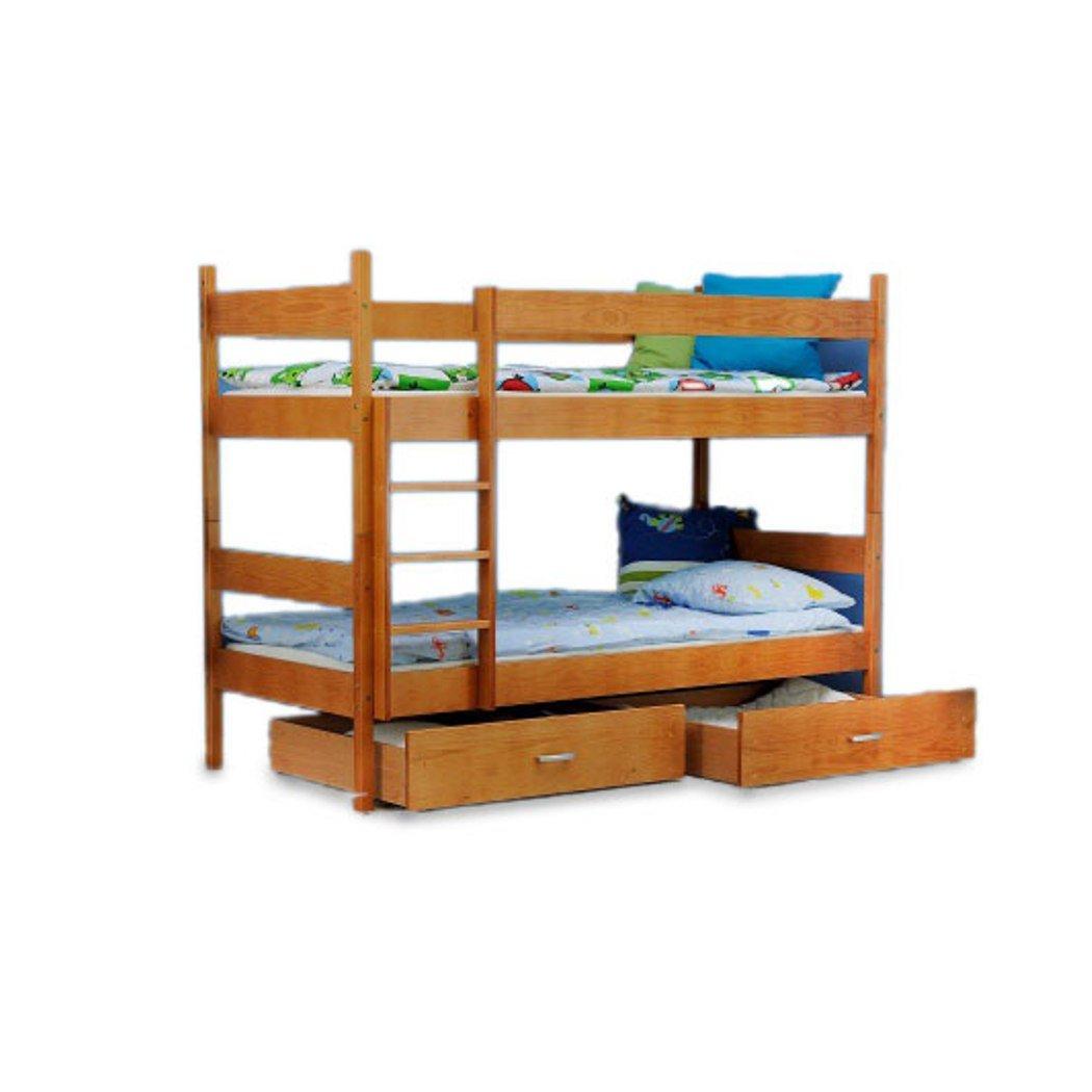Kinder Bett Etagenbett Kinderbett Kinderzimmerbett 2 Personen Erle neu online kaufen