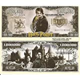Novelty Dollar Harry Potter Wizard Million Dollar Bills x 4 New