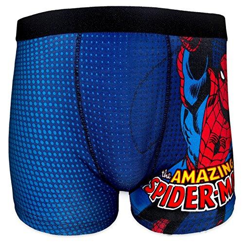 Spiderman -  Boxer  - Uomo blu Large
