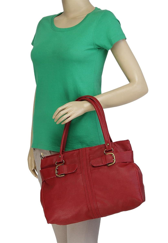 11c93ae298 Alessia74 Women s Handbag (Maroon) (PBG242I)