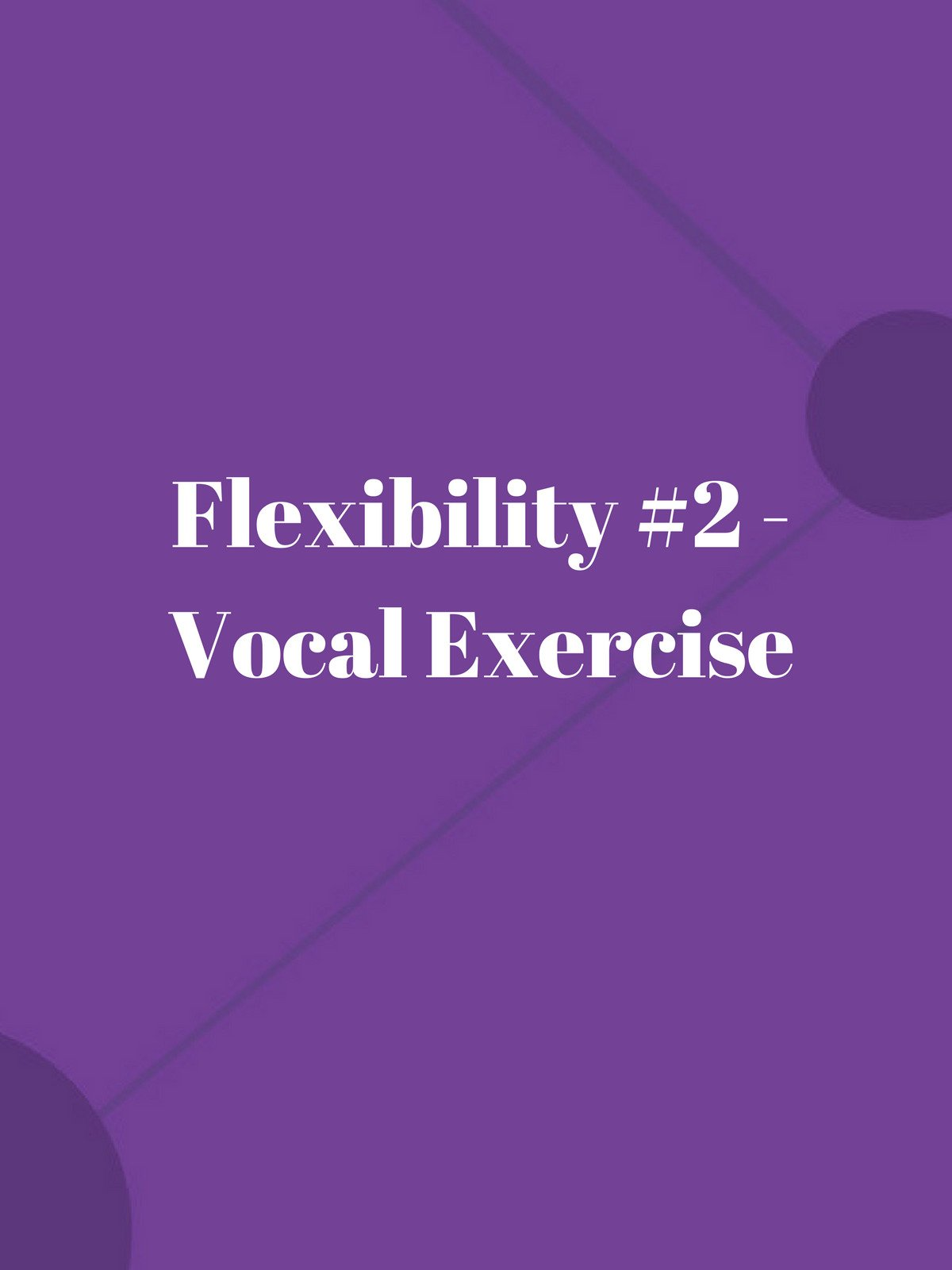 Flexibility #2