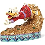 Disney Traditions Jim Shore Greedy Scrooge McDuck Swimming In Coins Figurine