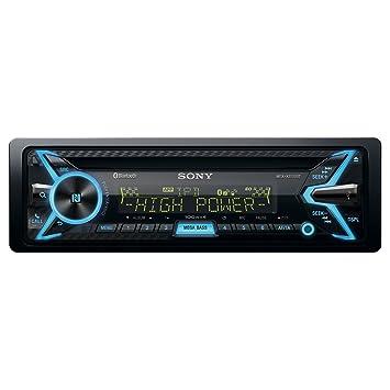 Sony MEX-XB100BT Autoradios Bluetooth, En Façade