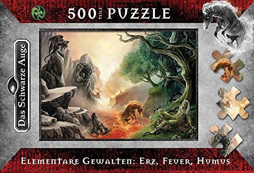 das-schwarze-auge-elementare-gewalten-erz-feuer-humus-puzzle-500-teile