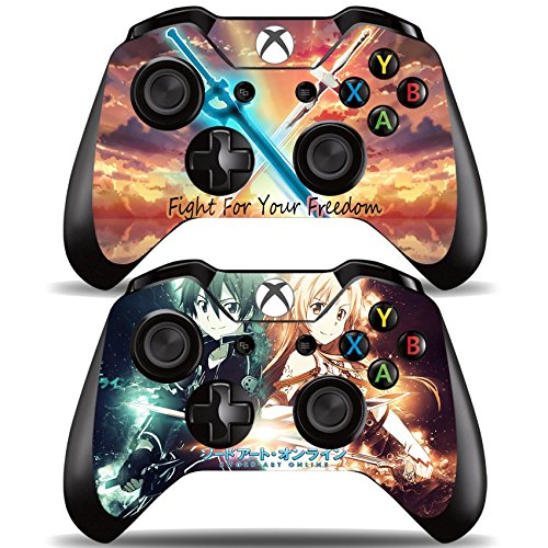 Vanknight-Vinyl-Decal-Skin-Stickers-Cover-for-Xbox-One-2-Controllers-Skin