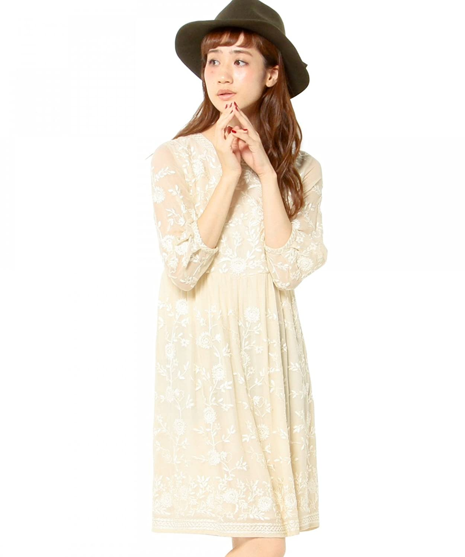 (アナザーエディション) Another Edition AEFC FLW EMB C/N OP 56266032679 03 Off White フリー : 服&ファッション小物通販 | Amazon.co.jp