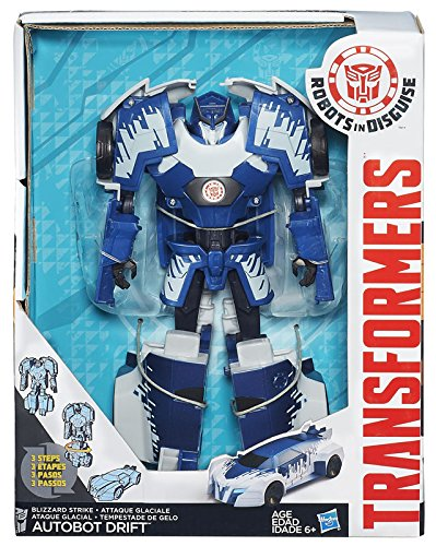Transformers Robots in Disguise 3-Step Changers Autobot Drift Figure by Hasbro