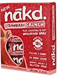 Nakd Strawberry Crunch Raw Fruit, Nut & Oat 30g (24 Bars)