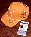 RICKIE FOWLER Signed PUMA Arnold Palmer Orange GOLF youth HAT + COA U88040 - JSA Certified - Autographed Golf Equipment