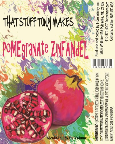 Nv That Stuff Tony Makes Pomegranate Zinfandel 750 Ml
