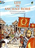 Life in Ancient Rome (Dover History Coloring Book) (0486297675) by Green, John