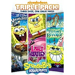 SpongeBob SquarePants Triple Feature: Last Stand / Triton's Revenge / Viking Sized Adventures