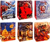 TSI 84017 Geschenktüten Weihnachten Serie 7 12-er Packung,...