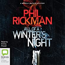 All of a Winter's Night: Merrily Watkins Mysteries, Book 14 Audiobook by Phil Rickman Narrated by Emma Powell