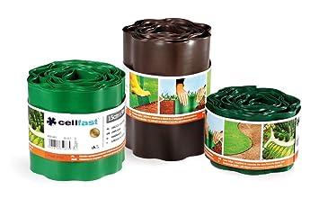 jardin flexible bord pelouse 9m 9m x 150mm sombre mur de de la fronti re d ligneuse vert. Black Bedroom Furniture Sets. Home Design Ideas