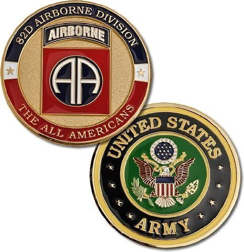 Fort Bragg 82nd Airborne Division Challenge Coin