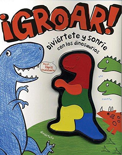 Bumba! Divi'rtete y Sonr-E Con Los Dinosaurios (Activity W Crayons)