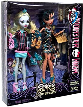 Monster High Scaris Exclusive 2-Pack Lagoona Blue Cleo De Nile