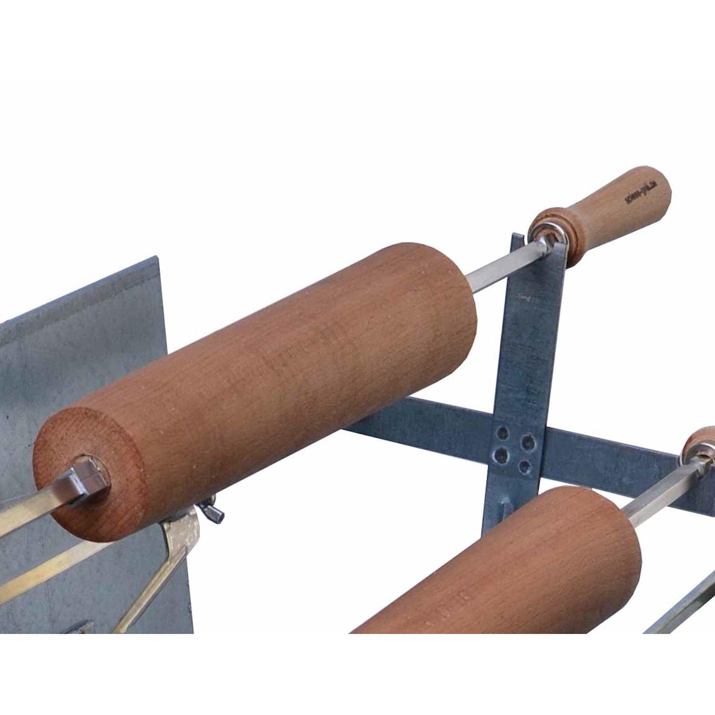 Baumstriezel Buchenholzrolle für Holzkohle Spießgrill 50 cm günstig