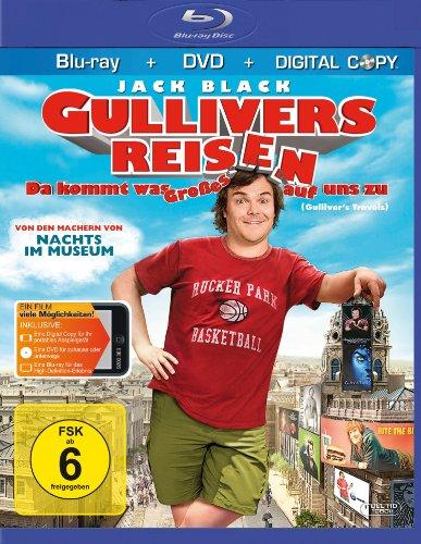Gullivers Reisen - Da kommt was Großes auf uns zu (+ DVD) (inkl. Digital Copy) [Blu-ray]