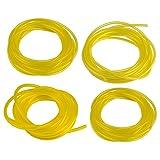 HIPA (4 Size) 4-Feet-Long Fuel Line Hose Tube I.D. x O.D. 3/32