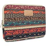Kinmac New Bohemian Laptop Case Canvas Fabric Laptop Sleeve 14 Inch for Dell / Hp /Lenovo/sony/ Toshiba / Ausa / Acer /Samsun Ultrabook 14.0inch Laptop Bag