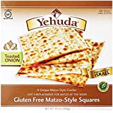 Yehuda B14483 Yehuda Matzo-style Squares Gluten Free Toasted Onion -12x10.5oz