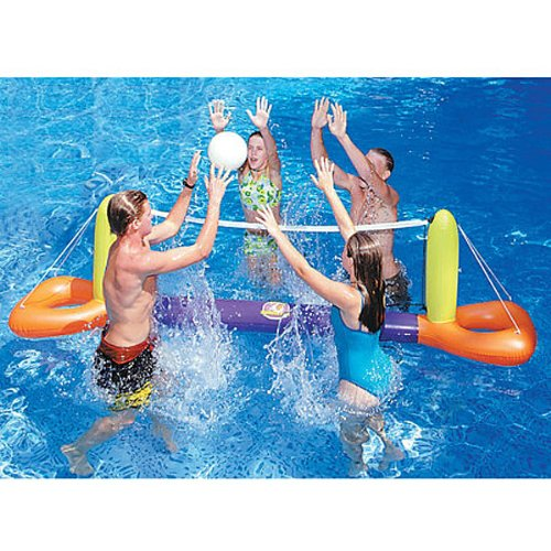 Compare Water Sports Inflatable Floating Splash Volleyball Game For The Swimming Pool Price