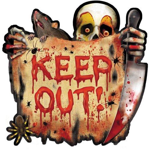 Creepy Carnival Keep Out Cutouts