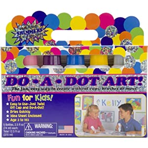 Do A Dot Art: 5-pack Shimmer Markers