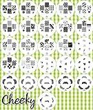 Nouvelle collection 2012 Stamping Nail Art Kit / Set d'accessoires pour manucure / pedicure pour d�co d'ongles par Cheeky: Eventail de 26 plaques d'images pour un total de 160 pochoirs. Rapport prix / quantit� imbattable!