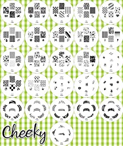 Set 26 Nail Art / Nailart Stamp Plates - Stamper Kit with 160 Designs by Cheeky®