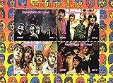 Sellos de colección - El Beatles British Music Band MNH Hoja Bloque / Chad / 2015