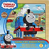 Thomas The Tank Engine My First 4 Piece Wooden Jigsaw Puzzle Toy - 12m+