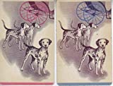 2 Single Vintage Swap Playing Cards Dalmatian Dogs