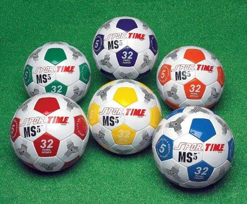 Sportime Hand-Sewn Gradeball Soccer Ball - Size 4 - Red