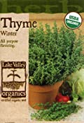 Lake Valley 857 Organic Thyme Winter Seed Packet