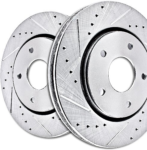EBC Brakes GD7004 3GD Series Dimpled and Slotted Sport Rotor