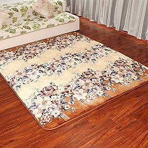 rustic empty living room carpet | Amazon.com - Ustide Rustic Floral Design Floor Runner ...