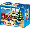 Playmobil - 4892 - Jeu de construction - Salon avec d�corations de No�l