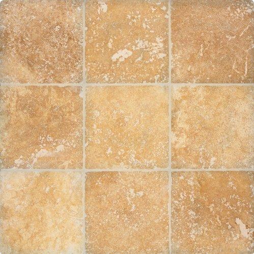 Arizona Tile 4 by 4-Inch Tumbled Travertine Tile, Alexandria, 5-Total Square Feet