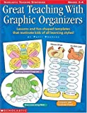 img - for Great Teaching With Graphic Organizers: Lessons and Fun-Shaped Templates that Motivate Kids of All Learning Styles! (Grades 2-4) by Patti Drapeau (1998-01-01) book / textbook / text book
