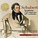 Schubert : Symphonies n� 8 et 9. Krips, Mravinski.