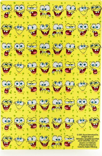SpongeBob Stickers (2 sheets)