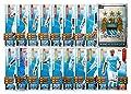 Match Attax 2015/2016 > Manchester City 17 Base Cards + Club Badge