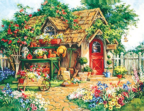 Gardener's Haven 1000+ Piece Jigsaw Puzzle by Sunsout Inc.