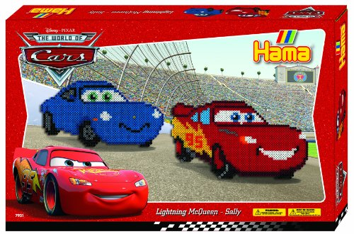 Hama Beads Disney Cars -Lightning McQueen & Sally Gift Set