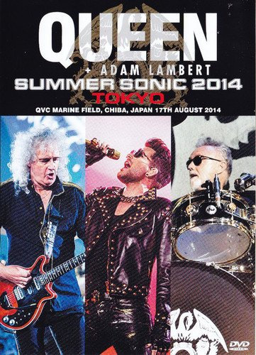 Blu-ray : Queen - Live In Japan Summer Sonic 2014 (Japan - Import, 2 Disc)